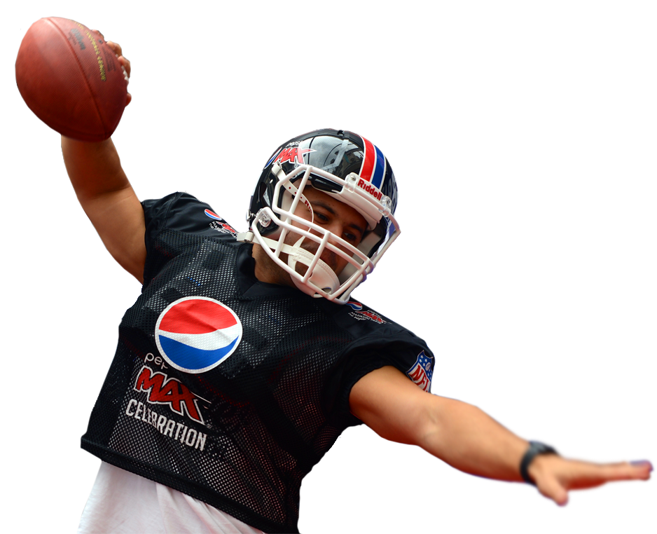 Pepsi-Football-player